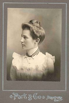 Victorian old photo