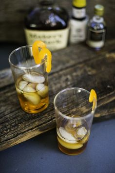 Maple Old Fashioned: the perfect cocktail for winter.