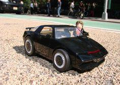 Little KITT car! Hilarious!