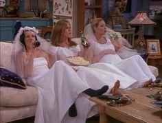 wedding dressses, beer, friends tv, dream, the dress, single life, friend wedding, girl night, parti