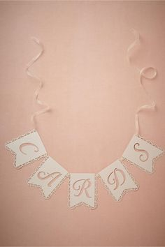 product | Lacy Card Banner from BHLDN | laser cut details