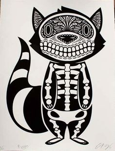 extremely cool graphic insspired by traditional Mexican design motifs