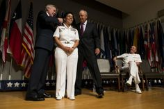 Adm. Michelle Howard becomes first four-star woman AND the first four-star African American in Navy history. She'll take over as the vice chief of naval operations, the No. 2 officer in the service. It's the latest achievement for Howard, who previously was the first African-American woman to serve as a three-star officer in the U.S. military and command a U.S. Navy ship. Among her many accomplishments, she led the task force that rescued the real life Captain Phillips of the coast of Africa.