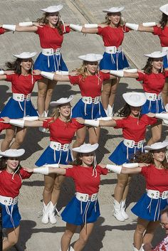 The Kilgore College Rangerettes