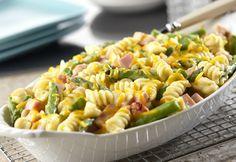 hams, asparagus recipes, food, green beans, ham asparagus, asparagus gratin, pasta, casserole recipes, baked recipes