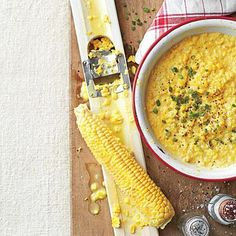 Creamed Corn | Keep an eye on the corn as it simmers; it needs to cook only until it's tender. If it starts to dry out and stick to the skillet, add water a little at a time. | SouthernLiving.com