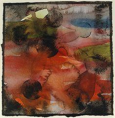 Untitled XV  Francesco Clemente (Italian, born Naples, 1952)