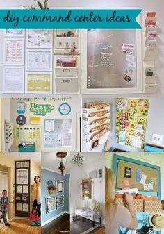 Goodwill Tips: 8 DIY Command Center Ideas
