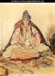 Jewish Bride 1832 -Delacroix