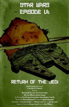 Star Wars VI, Return Of The Jedi