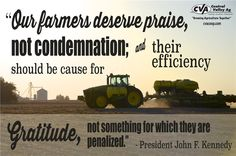 Quotes on #agriculture from former US presidents. Created by Kelli Reznicek for Central Valley Ag Coop