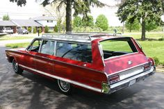 '66 Chrysler Town & Country wagon
