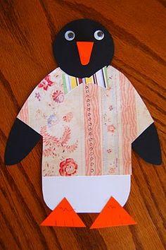 penguin fun, craft, book, kid