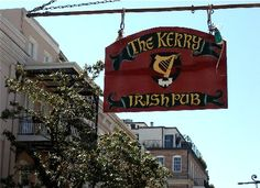 Kerry Irish Pub on Decatur Street in the French Quarter