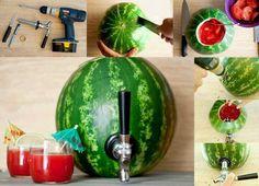 How to build a watermelon keg. Homestead survival