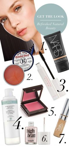 Get The Look: Natural Beauty    @Shelley Relue This mentions the high beam stuff from @Aleda Batchelder !