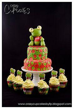 Crazy Cupcakes: Sapo Pepe para Bauti