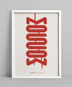 Moscow - #typography