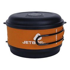 We have the Jet Boil system and it is great!  Super quick cooking and light packing.  Get the coffee press!  You can go wrong.  Jet Boil FluxRing Cooking Pot 2014