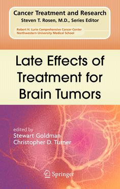 [Book] Late Effects of Treatment for Brain Tumors (Springer). Read some of the pages online here.