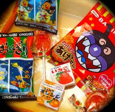 Japanese kid snacks