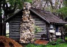 Old log cabin...