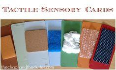 Tactile Sensory Cards
