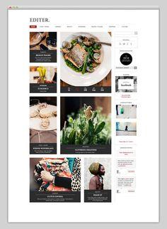 Web design #inspiration webdesign, graphic, web design, user interface, design inspir, website layout, minimal design, blog designs, website designs