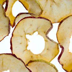 Dried Apples with Cinnamon Yogurt Dip