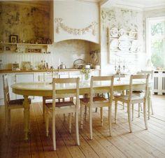 beautiful kitchen, Swedish Gustavian