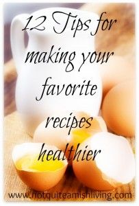 healthy recipe switches