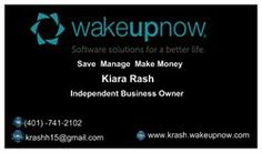 Wakeupnow business cards colourmoves