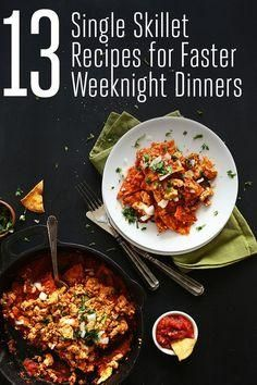 13 easy weeknight di