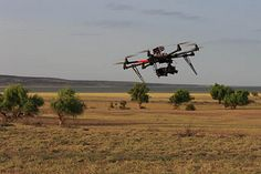 The Autodesk Octo-Copter being flow in Kenya  By Shaan Hurley, via Flickr