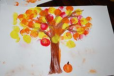 Fall art ideas for toddlers