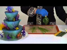 Drizzle Decorations with CakePlay Isomalt