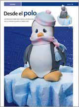 Modelar en #PORCELANA FRIA Nº 05 - 2012 - EviaEdiciones.com porcelana fria, clay craft, polym clay, xmas penguin