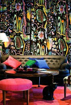 Josef Frank wallpaper design