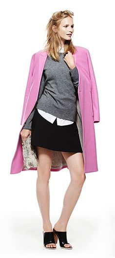 5 #FallTrends to Try Now: Pink + Grey shoe girl, fashion style, wardrob manifesto, privat shoe, fall fashion, fall 2014, weather shop, cold weather