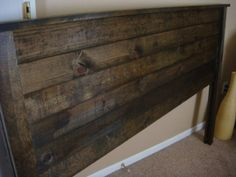 diy headboard - this explains everything, use this one