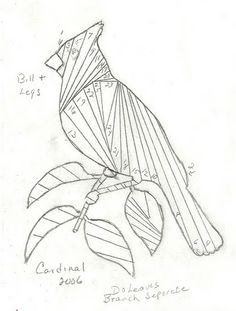 Iris Folding Templates & Inspirations  ++++ many patterns ideas