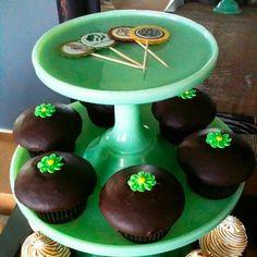 thin mint cupcakes :)