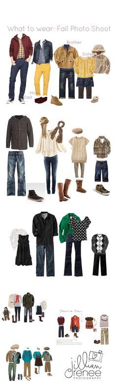 What to Wear ~ Fall Family Portrait Sessions { Pickerington Ohio Family Photographer} - Jillian Renee Photography