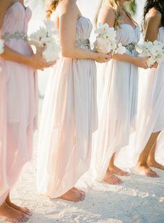 bridesmaids #beach #wedding