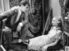Gary Cooper and Miriam Hopkins in Design For Living c.1933