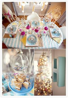 holiday wedding tablescape