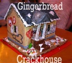 Some totally wrong (but hilarious) gingerbread houses