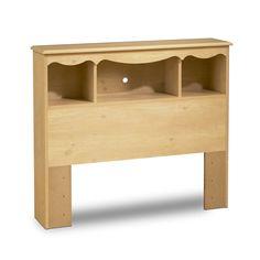 South Shore Furniture 3272-098 Lily Rose Bookcase Headboard - Home Furniture Showroom