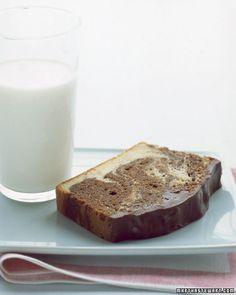 Chocolate Marble Bread with Ganache Recipe