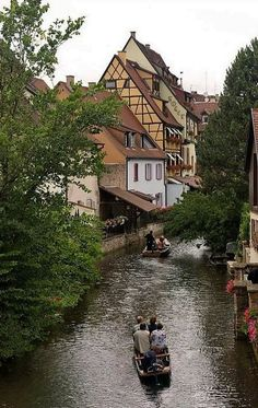 Little Venice and river La Lauch in Colmar, France / by Martien Uiterweerd via Flickr
